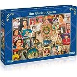 "Gibson - Puzzle, tema: ""90 o cumpleaños de la Reina"", 1000 PC."