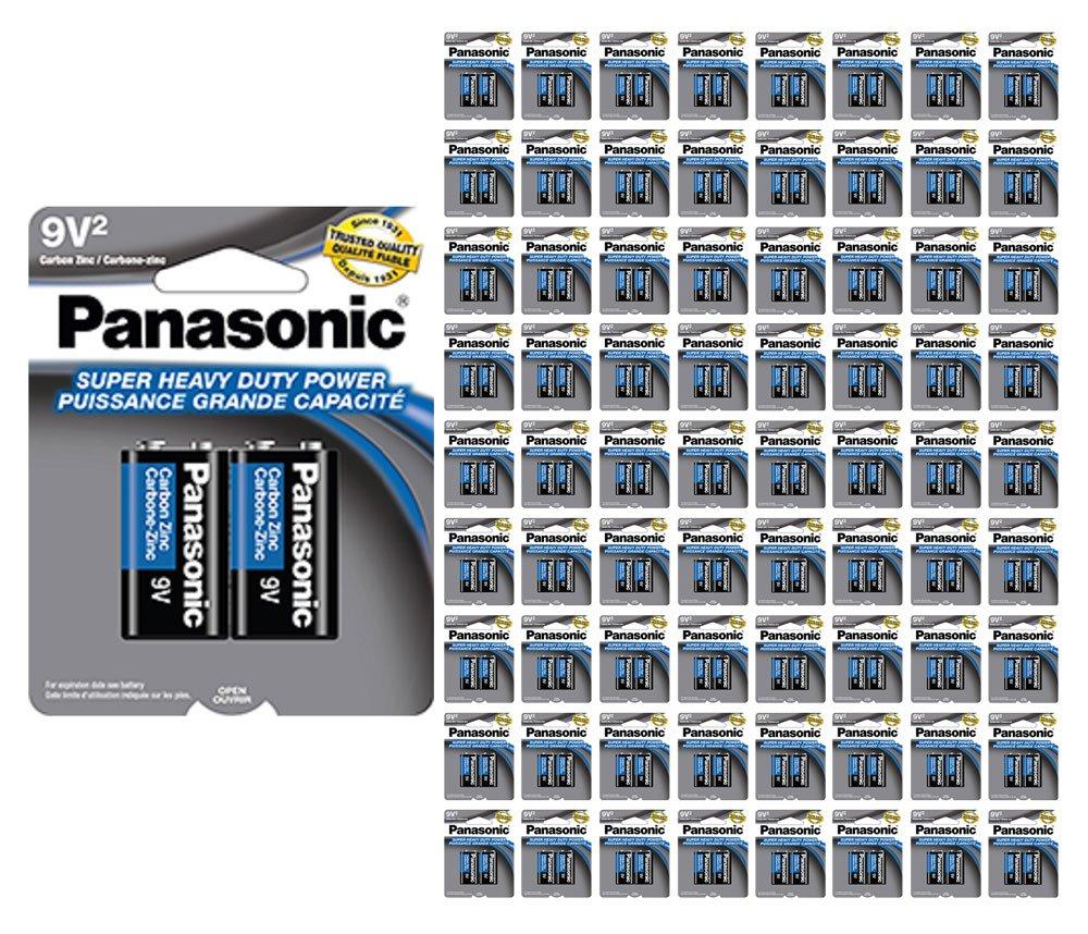1920x Panasonic Heavy Duty 9 Volt 9V Batteries Wholesale Lot Carbon Zinc 9V2 x 960