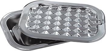 Norpro 273 Stainless Steel Broil/Roast Pan Set