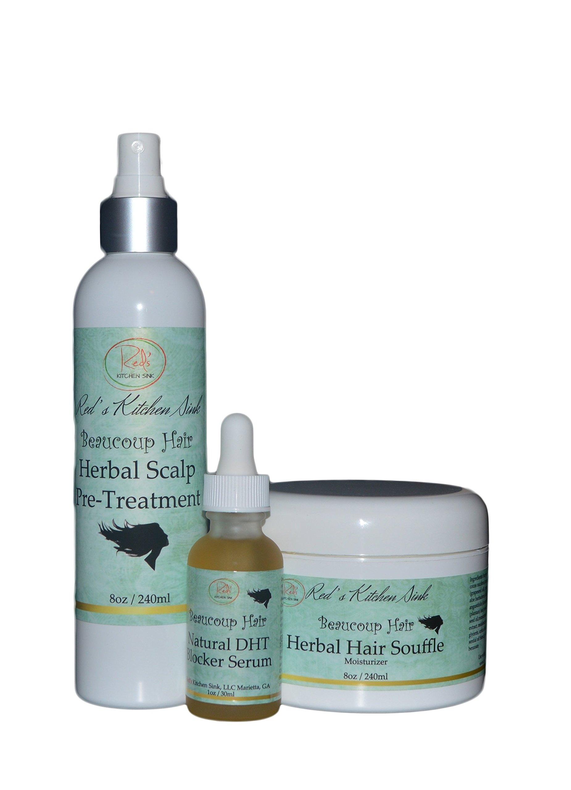 Beaucoup Hair Herbal Hair System For Women (JUMBO)