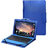 "RCA Galileo Pro 11.5 case by i-UniK Compatible RCA Galileo Pro 11.5"" Model #RCT6513W87DK C Tablet with Keyboard Case [Bonus Stylus] (Blue)"