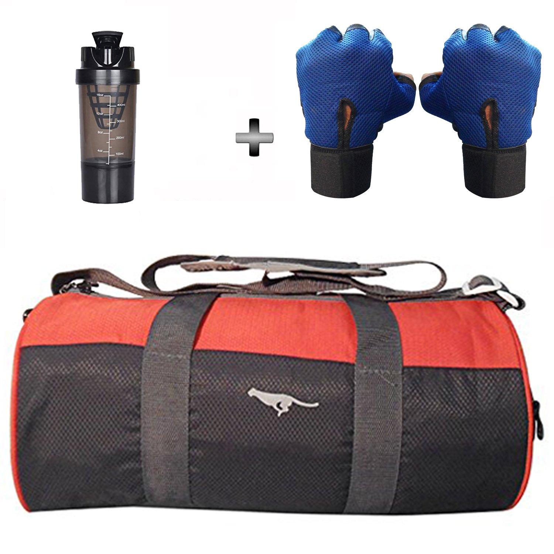 1dc6b87ae69f 5 O  CLOCK SPORTS Polyester Gym Bag Combo Set