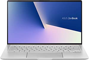 "ASUS ZenBook 14 UM433DA-DH75 90NB0PD6-M00680 Silver Laptop/Ryzen 7 3700U/8GB/512GB PCIe SSD/14.0"" Flat Full HD (1920x1080)/AMD Radeon RX Vega 10/Windows 10 Home"