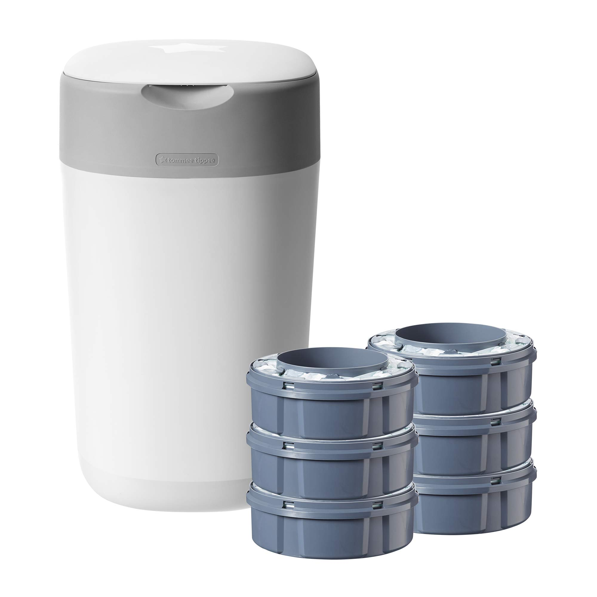 Tommee Tippee Sangenic Sistema avanzado para desechar pañales Twist & Click, Starter Pack product image