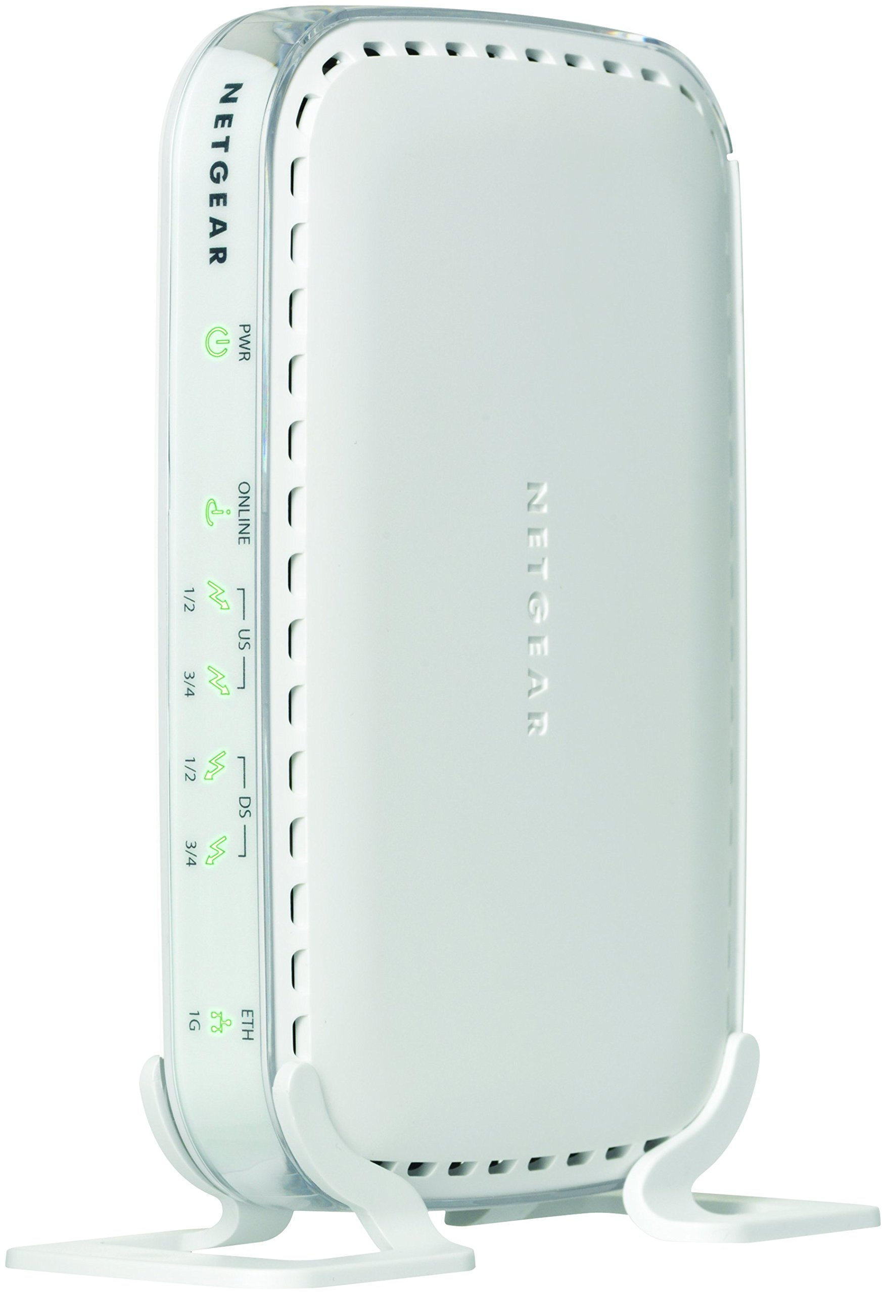 NETGEAR Certified Refurbished CMD31T-100NAR (4x4) Cable Modem - for Comcast, Cox, Cablevision