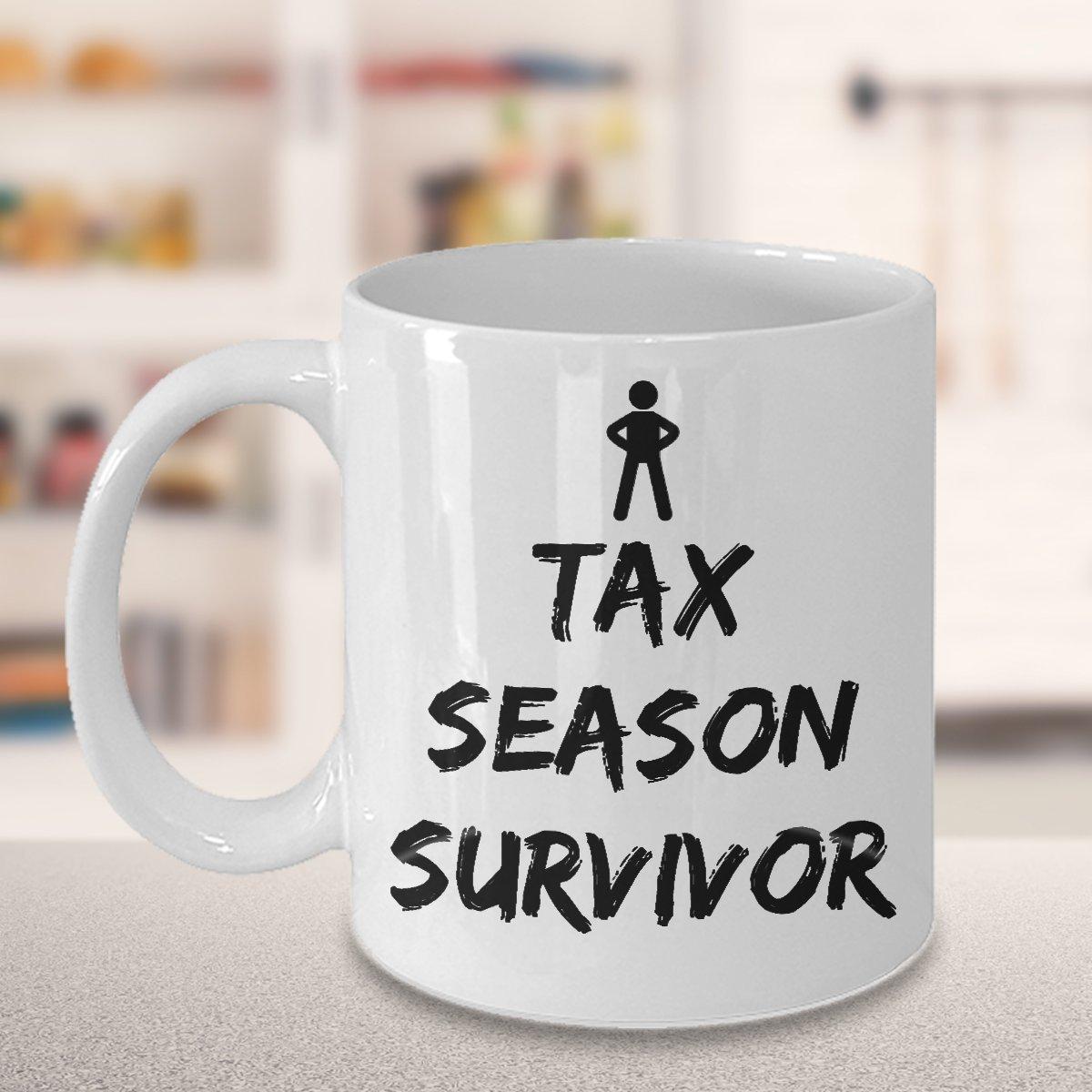 72630888 Amazon.com: Tax Season Survivor – Accountant White Funny Coffee Mug, Tea  Cup: Kitchen & Dining