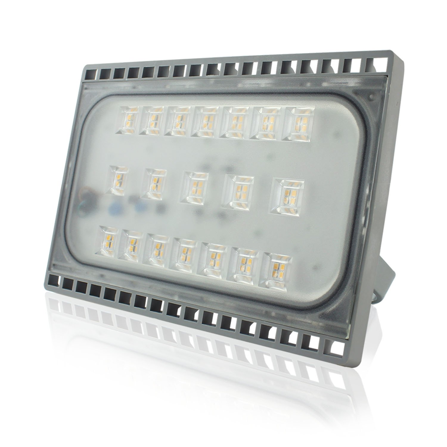 Indoor and Outdoor Floodlight IP65 Waterproof Warm White LED Security Lights 3000K PMS Ultra Slim 50W LED Flood Lights