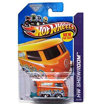2013 Hot Wheels Hw Showroom 169/250 - Volkswagen Kool Kombi - Orange: Toys & Games