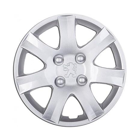 Embellecedores Copa de tapacubos 14 pulgadas rueda Peugeot 206 1 piezas repuesto individual