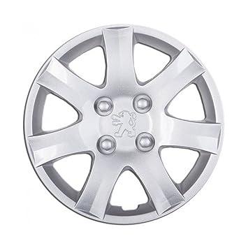 Embellecedores Copa de tapacubos 14 pulgadas rueda Peugeot 206 1 piezas repuesto individual: Amazon.es: Coche y moto