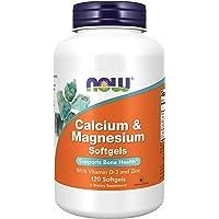 Calcium Magnesium with Vitamin D & Zinc 120softgels