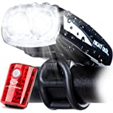 Cycle Torch Night Owl USB Rechargeable Bike Light Set, Perfect Commuter Safety Front and Back Bicycle Light LED Combo…