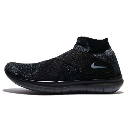 digestión porcelana Aplastar  Nike Men's Free RN Motion Flyknit 2017 Running Shoe Black/Dark  Grey-Anthracite-Volt 12.0: Amazon.in: Shoes & Handbags