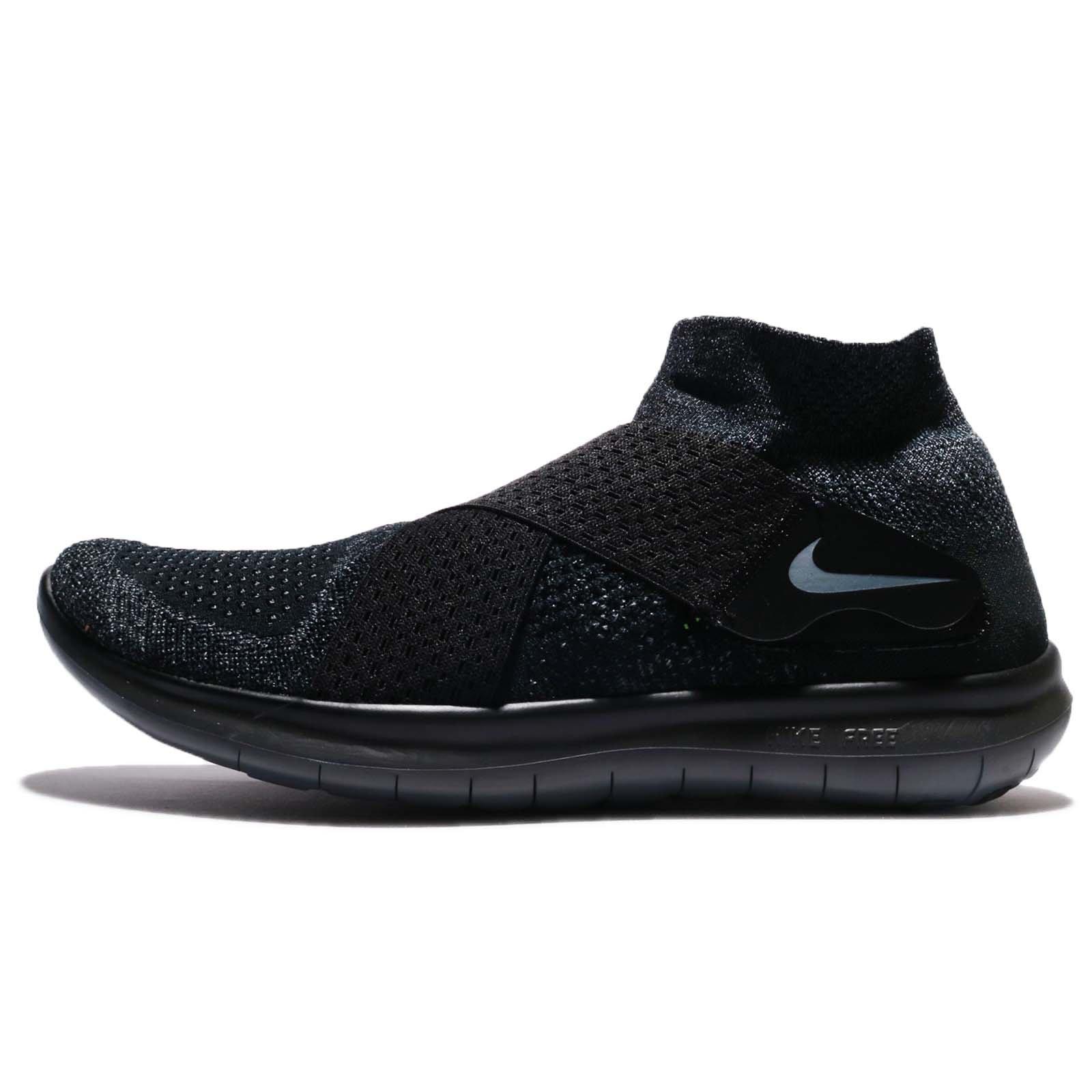save off d8597 7f702 Galleon - Nike Men s Free RN Motion Flyknit 2017 Running Shoe Black Dark  Grey-Anthracite-Volt 10.0
