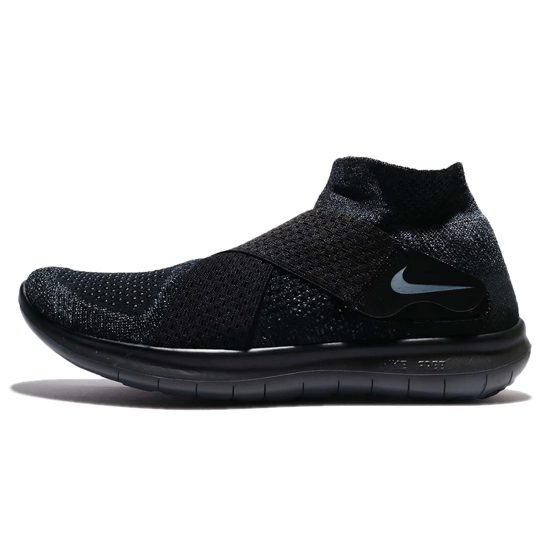 Nike Men's Free- RN Flyknit 2017 Running Shoe B00BP1E3QU 8 D(M) US|Black / Dark Grey - Arthracite