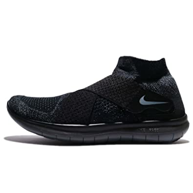 8d7b23b6d153 ... low price nike mens free rn motion flyknit 2017 running shoe black dark  grey anthracite aac0a