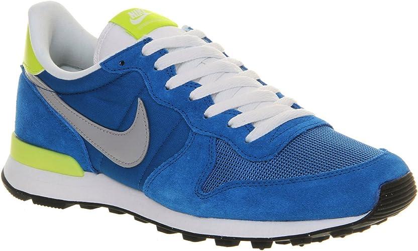 Nike Internationalist bleue et jaune Chaussures Baskets