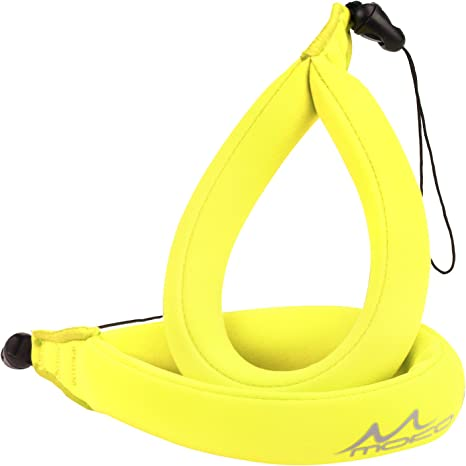 Olympus Floating Foam Strap Yellow