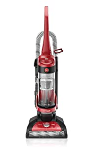 Hoover Windtunnel Max Capacity Upright Vacuum Cleaner with HEPA Filter, UH71100, Red