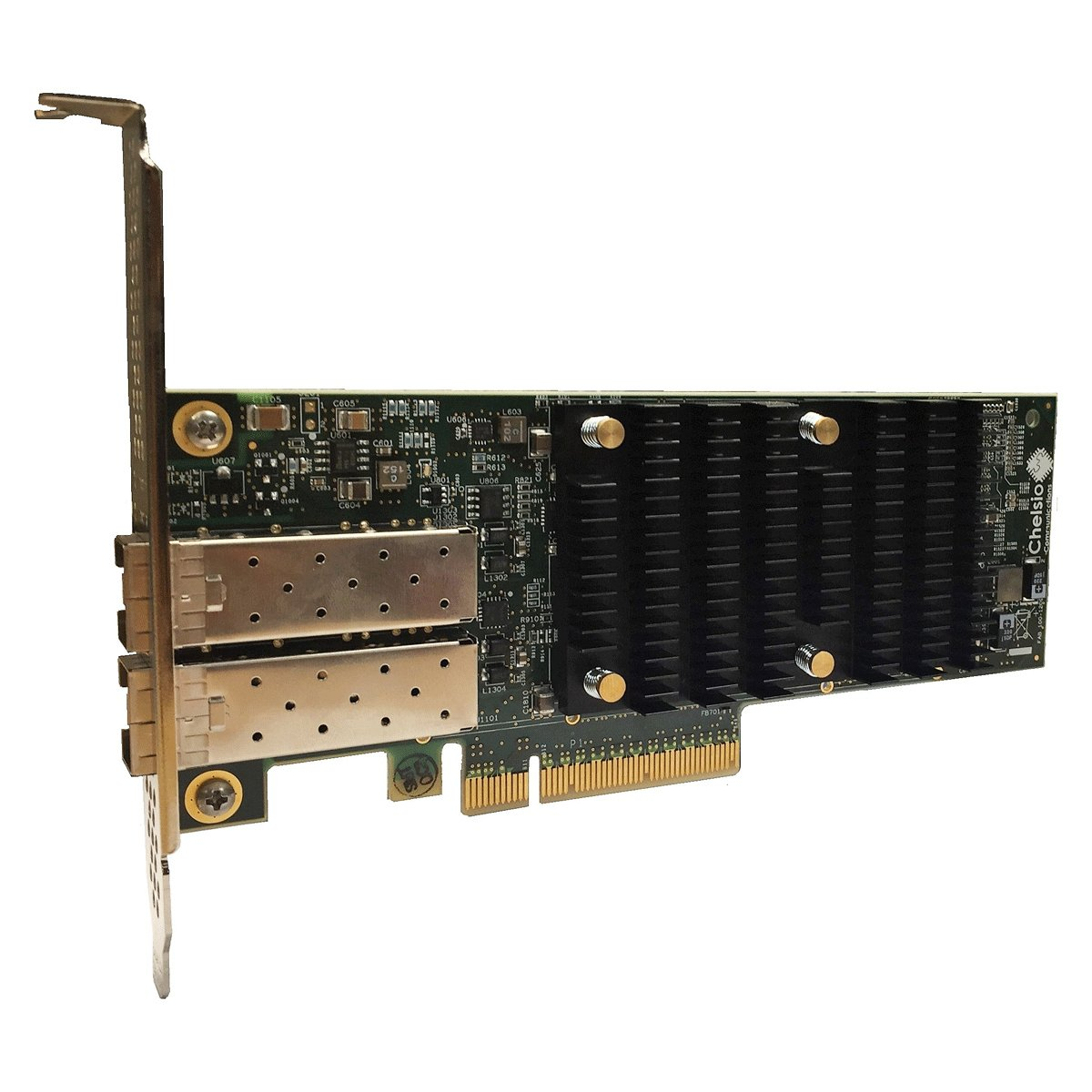 CHELSIO COMMUNICATIONS T6225-SO-CR 2-port Low Profile 10/25GbE Server Offload Adapter with PCI-E x8 Gen 3, SFP28 connector by Chelsio Communications