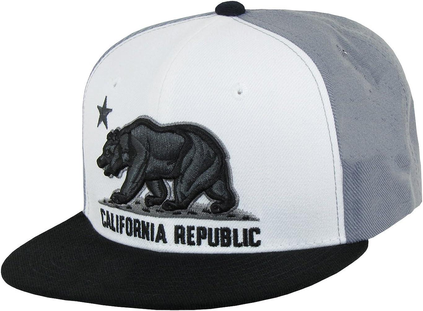 WHANG California Republic Snapbacks