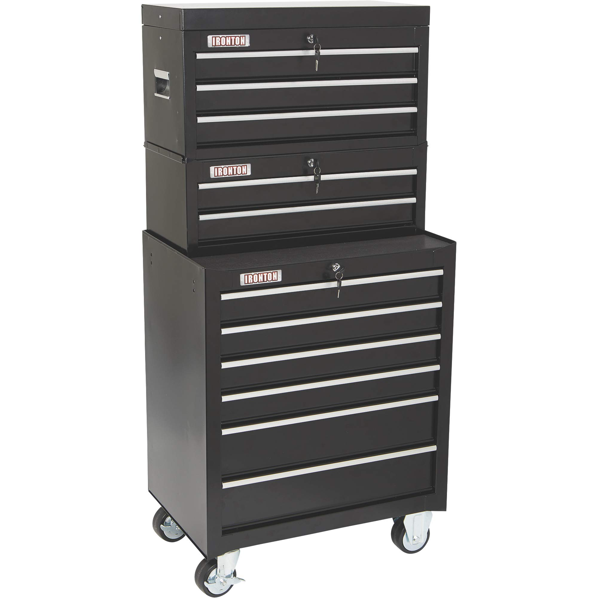 Ironton 26in. 6-Drawer Rolling Tool Chest - 26.75in.W x 18in.D x 33.3in.H by Ironton (Image #7)