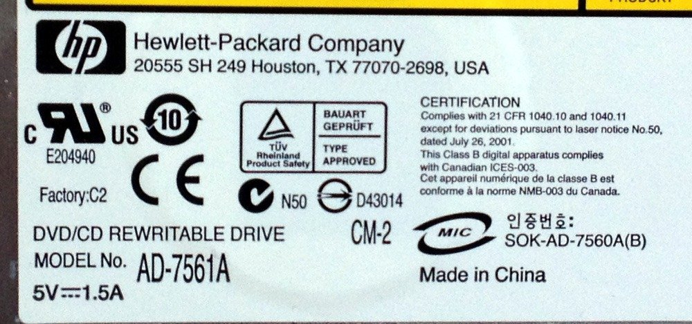 HP AD-7561A DRIVERS FOR WINDOWS DOWNLOAD