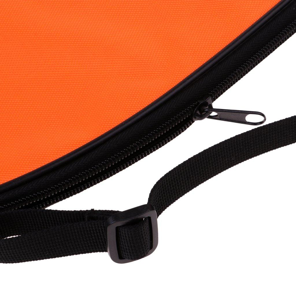 Homyl Wear-Resistant Squash Racket Cover Bag Multi-use Single Shoulder Bag Chest Bag for Squash Ball Training Practice