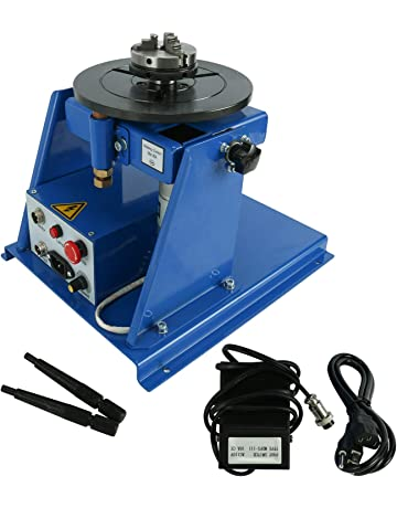 YaeTek 10KG Rotary Welding Positioner Turntable Table Mini 2.5