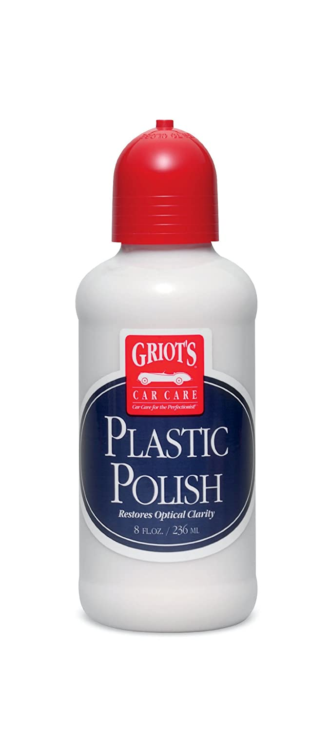 Griot's Garage 11186 Plastic Polish 8oz Griot' s Garage