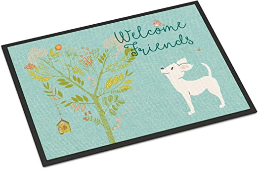 Carolines Treasures BB1508MAT Jack Russell Terrier Spoiled Dog Lives Here Indoor or Outdoor Mat 18x27 Multicolor Caroline/'s Treasures BB1508MAT Jack Russell Terrier Spoiled Dog Lives Here Indoor or Outdoor Mat 18x27 18H X 27W