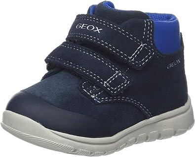 Geox B Xunday Boy A, Baskets Basses bébé garçon