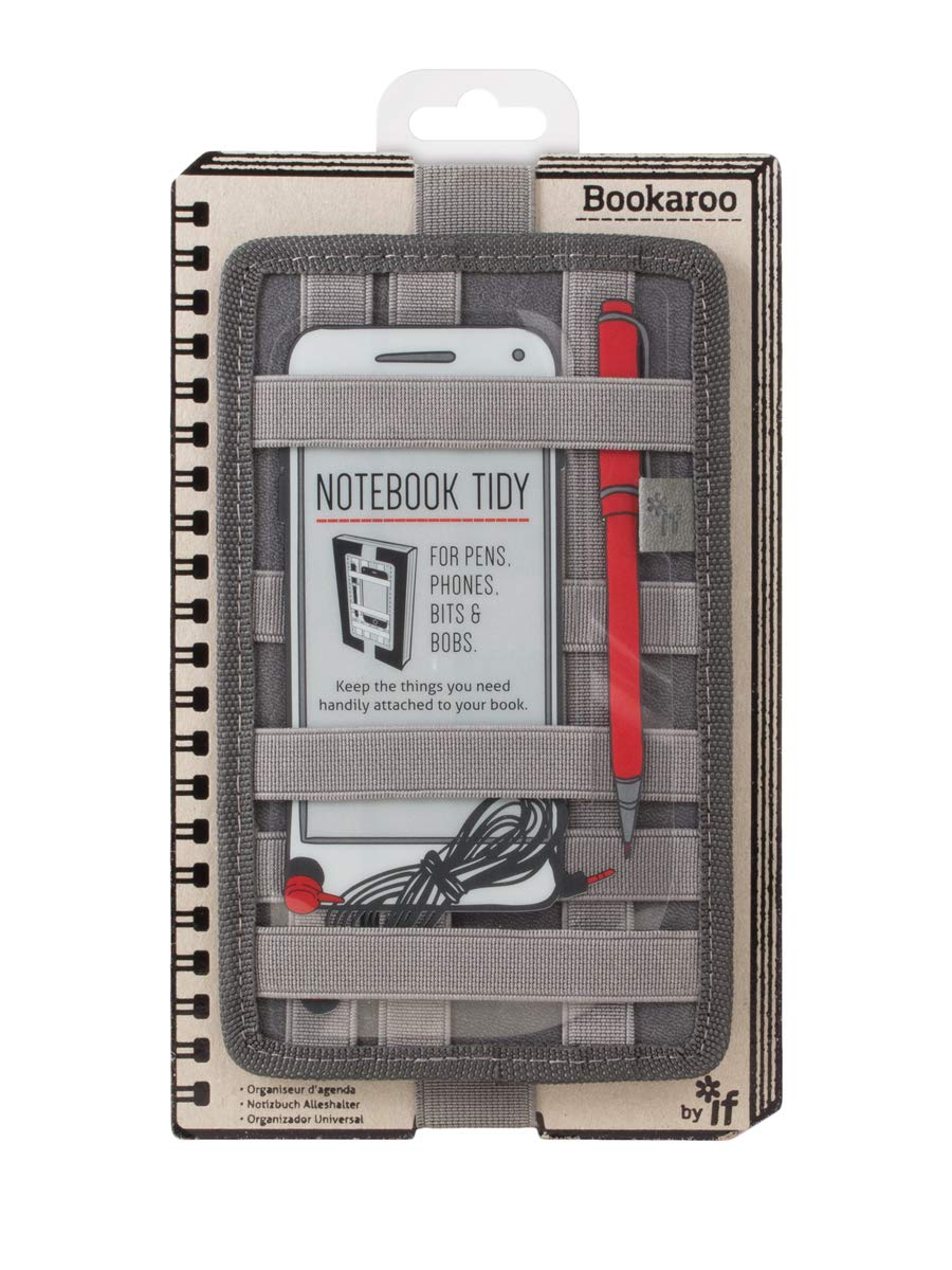 IF- Bookaroo Notebook Tidy for Books- Charcoal by IF