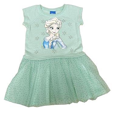 a73ebc9e75e16 Amazon.com: Disney Frozen Girls' Tutu Dress Pale Mint 2T: Clothing