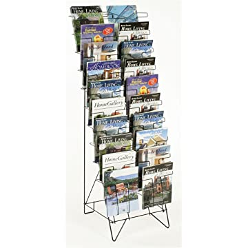 powerful Displays2Go Tiered Freestanding