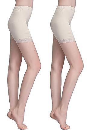 6b47f7856cb423 Vinconie Leggins Shorts Damen Kurz Unterhosen Damen Shorts Unter Rock  Boxershorts