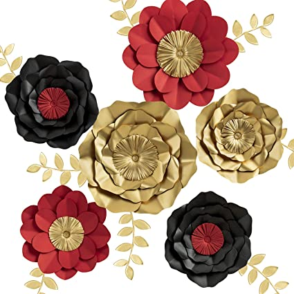 Key Spring 3d Paper Flower Decorations Giant Paper Flowers Large