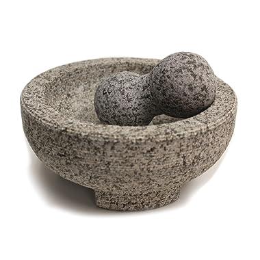 Maxam 8  Granite Molcajete Mortar and Pestle É