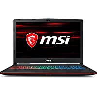 MSI Gaming MSI GP63 8RE-442IN 2018 15.6-inch Laptop (8th Gen Core i7-8750H/16GB/1TB/256GB SSD/Windows 10/6GB Graphics), Black