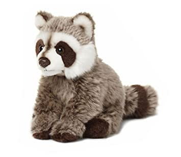 Universal Trends WWF WWF00547 Raccoon Sitting 15 cm 2 Different Kinds