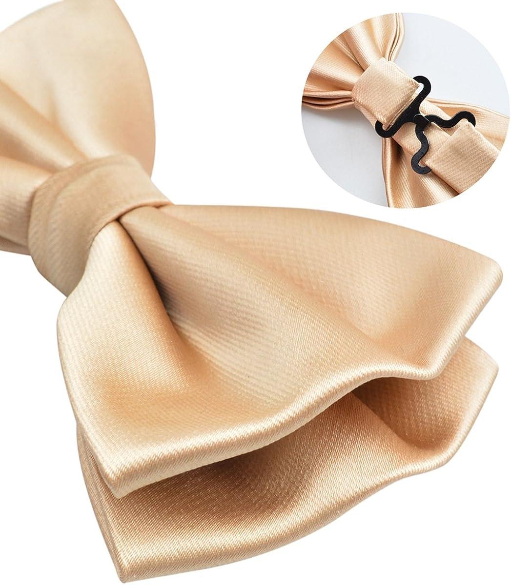 Hanky and Cufflinks Set Alizeal Mens Tuxedo Bow Tie