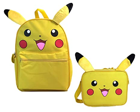 c5cca9d9f573 Image Unavailable. Image not available for. Color  Pokemon Pikachu 16 quot   Backpack for Kids Back to School Bag ...
