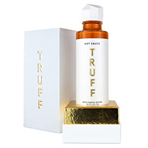 TRUFF Hot Sauce, White Truffle Limited Release, Gourmet Hot Sauce with Ripe Chili Peppers, Organic Agave Nectar, White Truffle and Coriander, a Limited Flavor Experience in a Bottle, 6oz.