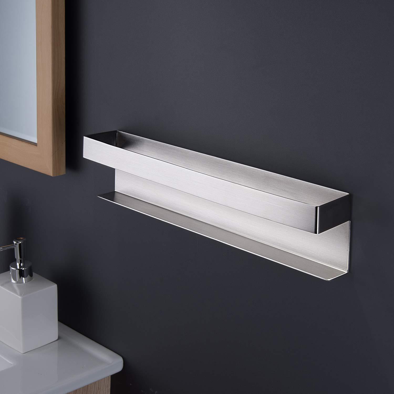 Edelstahl ZUNTO G/ästehandtuchhalter Ohne Bohren Handtuchhalter Selbstklebend Handtuchregal Badezimmer
