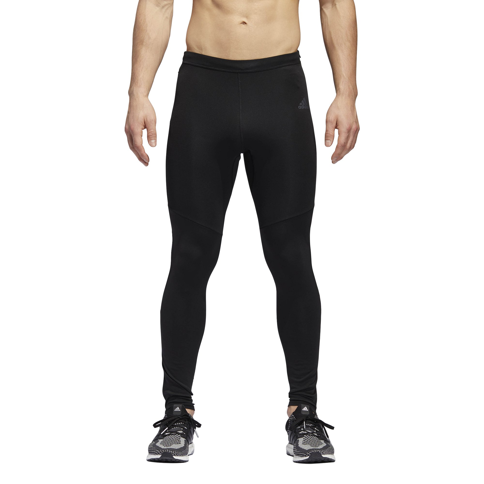 adidas Men's Response Long Tights, Black, Small by adidas (Image #1)