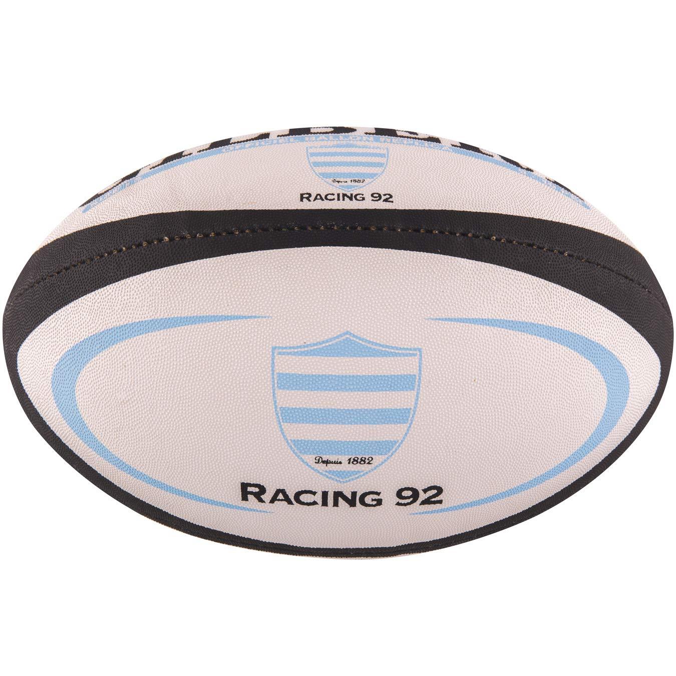 Gilbert Ballon Rugby - Réplica Racing 92 - Mini 5024686276141