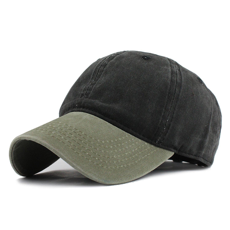 TokLask 9 Mixed Colors Washed Denim Hats Autumn Summer Men Women Baseball Cap Sunblock Beisbol Casquette Hockey Caps