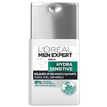 LOréal Paris Men Expert Hydra Sensitive Bálsamo After-Shave Calmante para Piel Sensible