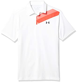 Under Armour Playoff 2.0 Mens Transpirable Hombre, cómoda y Ancha Camisa Polo Masculina de Manga Corta, Blanco, LG: Amazon.es: Deportes y aire libre