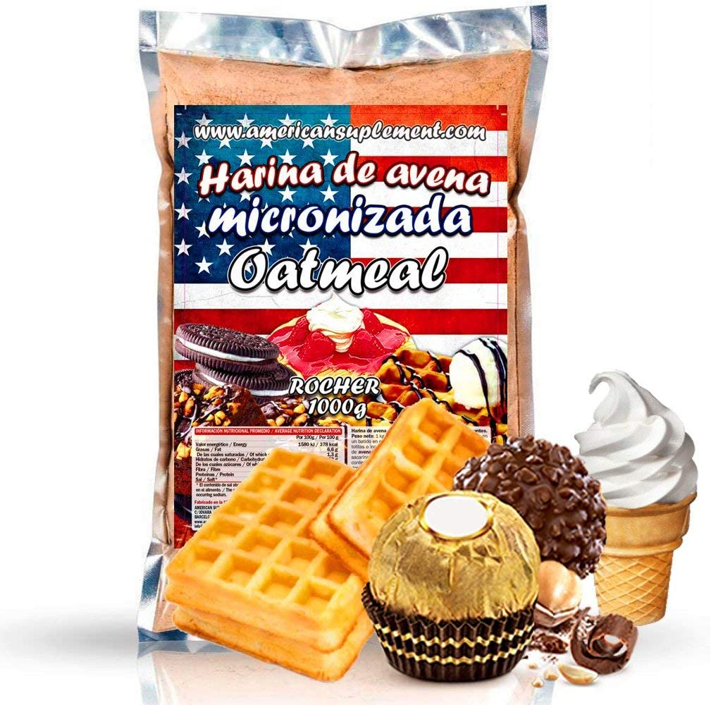 American Suplement - 1000 gr - Harina de Avena Integral, ideal ...